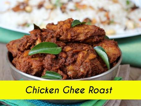 Chicken Ghee Roast Recipe