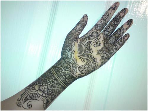 Bangle Type Mehndi Designs