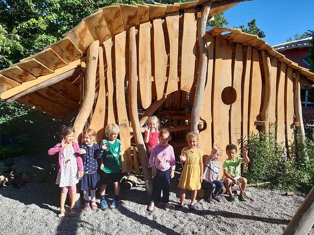 Waldorfkindergarten Gröbenzell_Spielhaus
