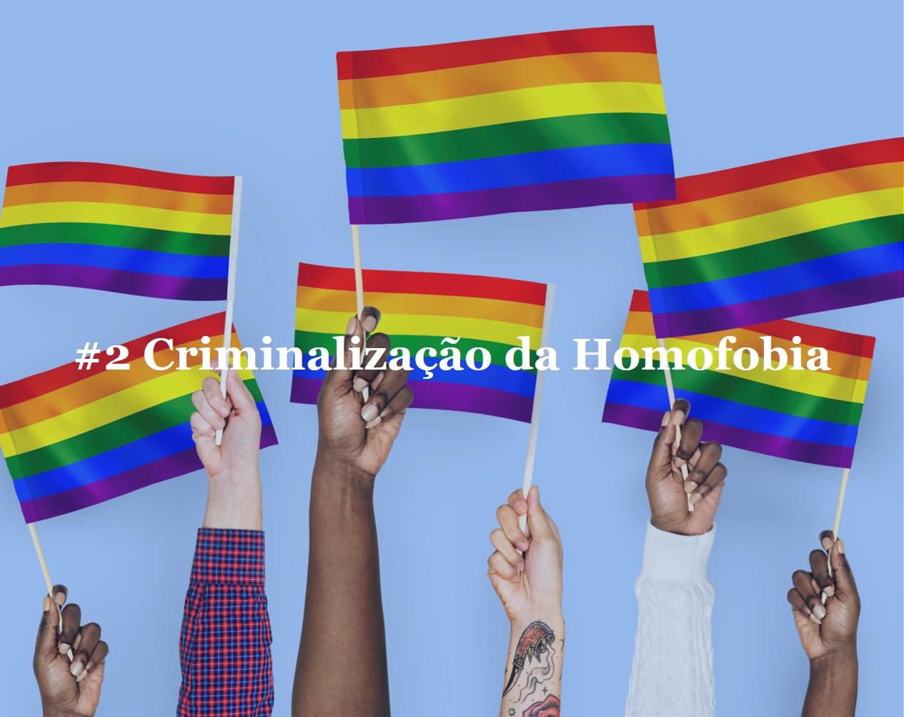 #2 Criminalização da Homofobia