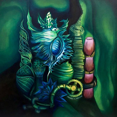 'BioPunk IV,' by Elizabeth R. Wilson. Oi