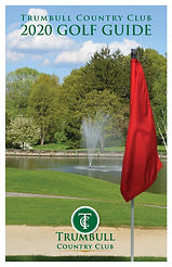 Trumbull Country Club 2020 Golf Guidem-