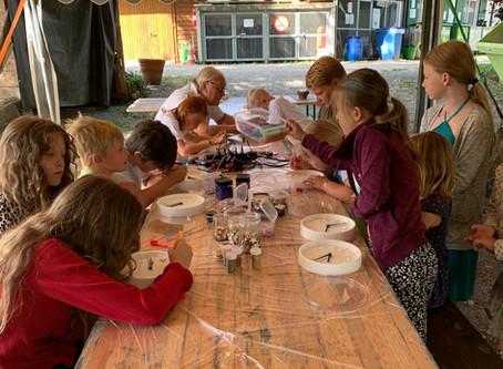 Basteln auf dem Camping Rausenbach - Teil 1