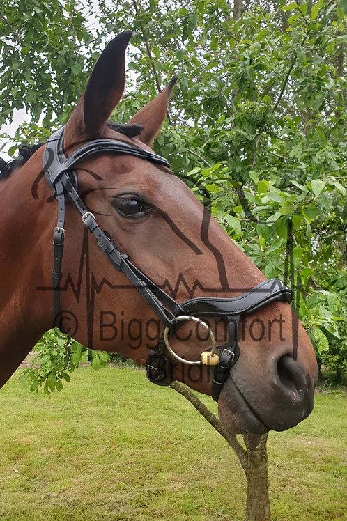 Bigg Comfort Fixed Drop Standard Headpiece Bridle