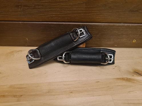 Bigg Comfort Bosal ring Double buckle pad fasteners