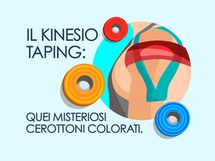 Il Kinesio Taping: quei misteriosi cerottoni colorati.