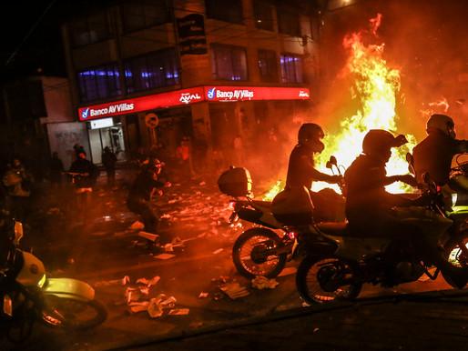 Violência policial na Colômbia