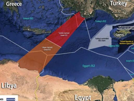 Tensões no Mediterrâneo Oriental