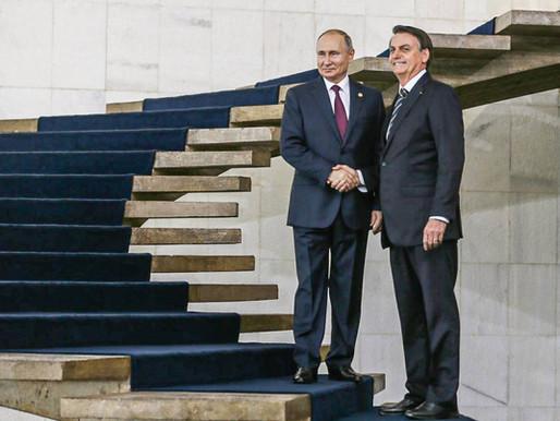 Putin parabeniza Biden. E o Brasil…