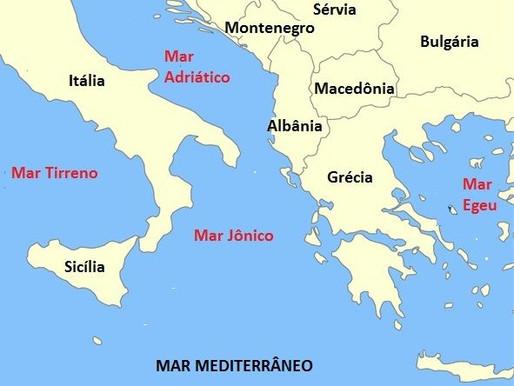 Grécia, Turquia e o Mar Egeu