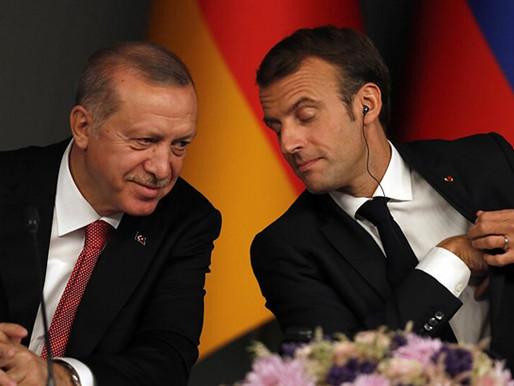 Mais atritos entre França e Turquia