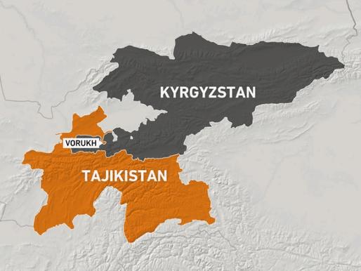 Os atritos entre Tajiquistão e Quirguistão