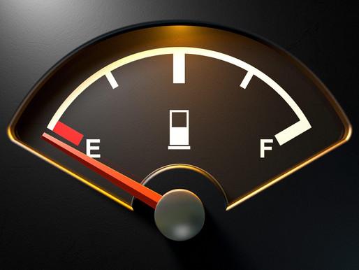 Sem combustível