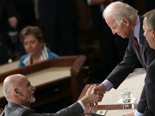 O Afeganistão entre Biden e Ghani