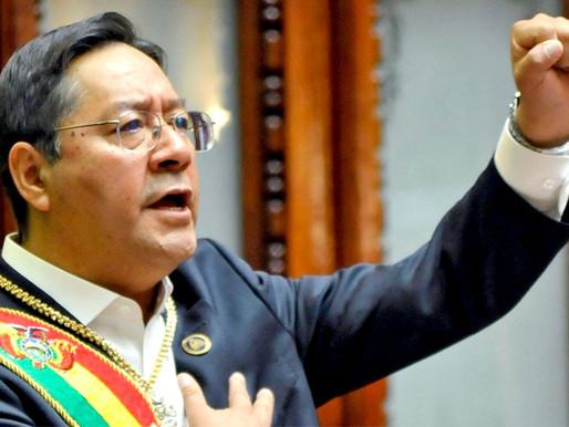 Luis Arce e as eleições bolivianas