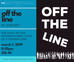 Off The Line @ The Green Room 42