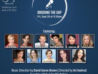 Bridging the Gap @ Feinstein's/54 Below