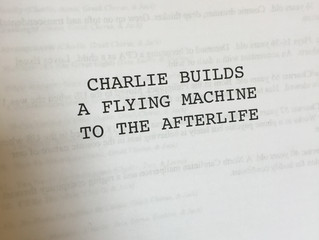Charlie Builds A Flying Machine to the Afterlife