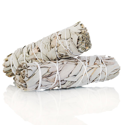 "White Sage Bundle 4""-6"""