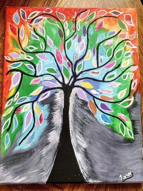 Tree of Life (Hand Painted Art)
