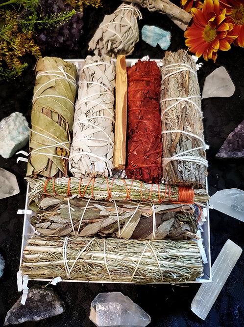 Dried Bundles Sage Box Kit Plus+