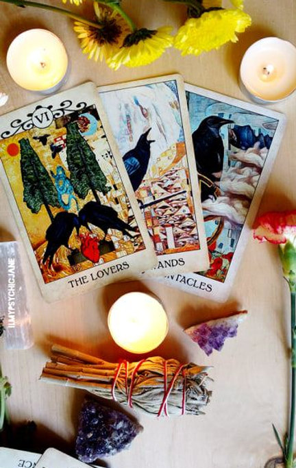 The Lovers Tarot  (Love interests)