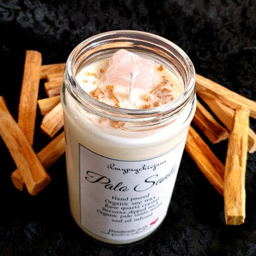 Palo Santo Organic Soy Wax Candle 16oz