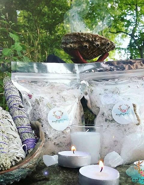 Deluxe Organic Bath Set/ Gift Set