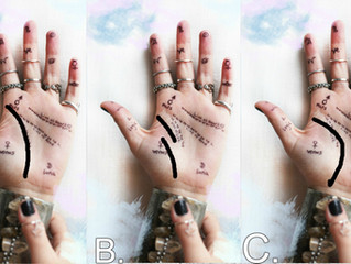 Which line do you have? -Palmistry/Chiromancy.