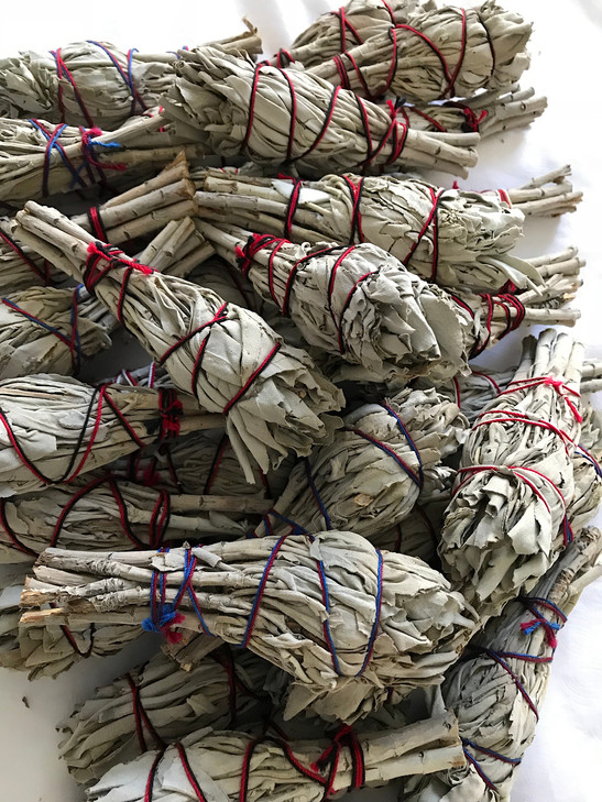 Sage the Natural Antibacterial Smudging/ Smoke Cleansing Tips Facts and Uses and DIY Herb Bundles