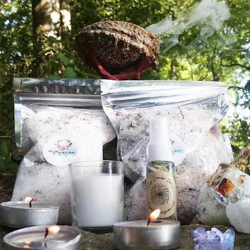 Trio Deluxe Organic Bath Gift Set