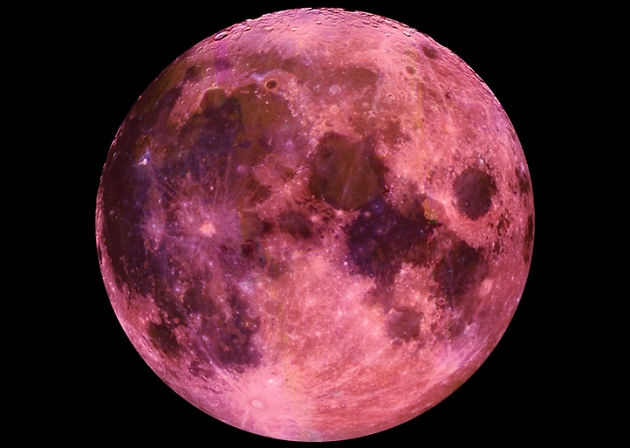The Full Strawberry Moon Of June and 5 Planet -Moon Conjunctions 2019