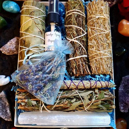 Unique Cleansing Bundles Box Kit - Excludes White Sage