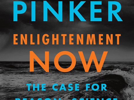 A review of Enlightenment Now by Steven Pinker
