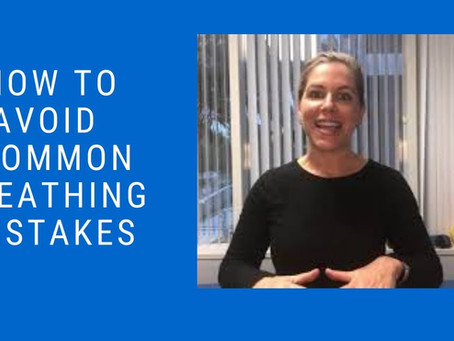 How to Avoid Common Breathing Mistakes