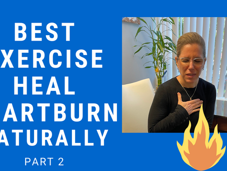 How to Heal Heartburn (Acid Reflux) Naturally without Medication: GERD Gone!! Part 2