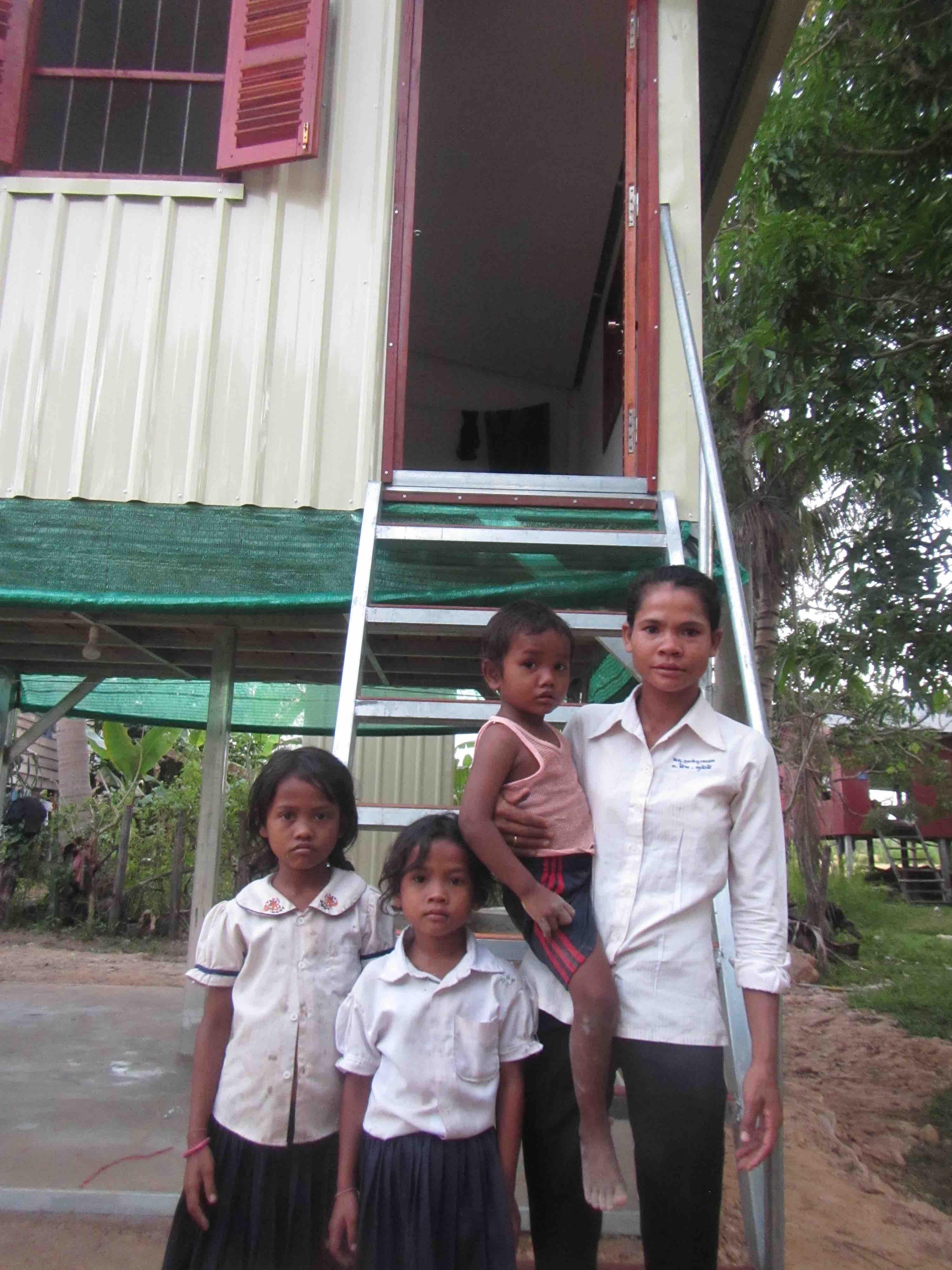 Toem & her family