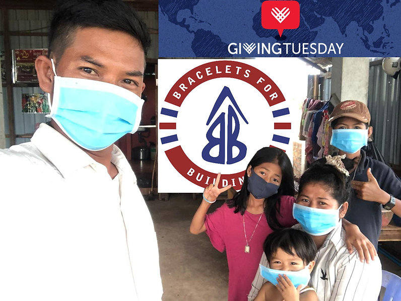 Heng and family in mask GivingTuesday 20