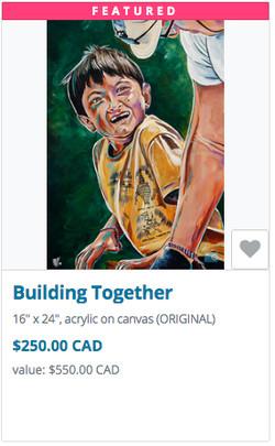 Building together auction item