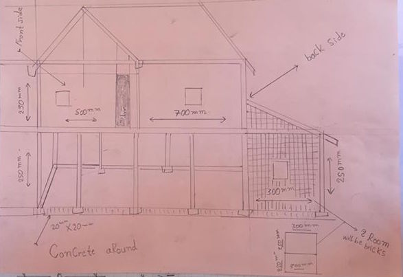 Hengs House plan 1