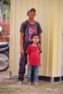 Chong Chea and son