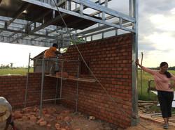 Bricks in process