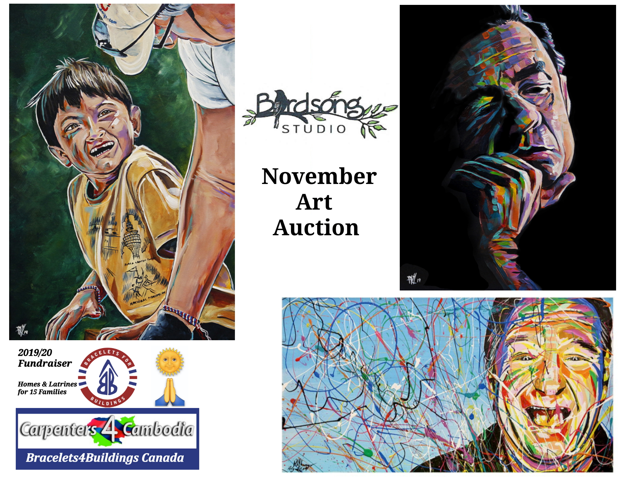 B4B Art Auction NOv 2019
