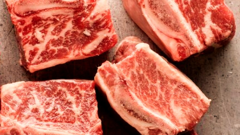 Frozen Beef Short Ribs