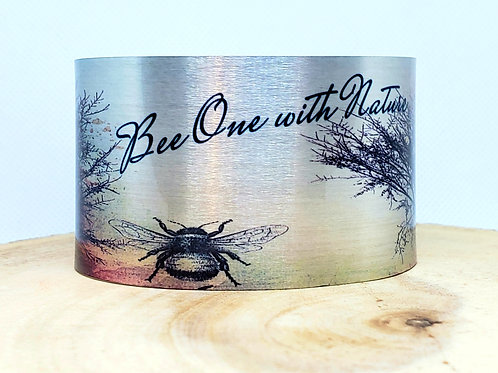 Bee One with Nature Cuff Bracelet