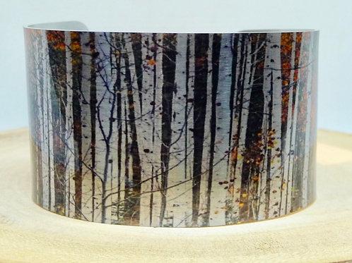 Aspen Trees Cuff Bracelet