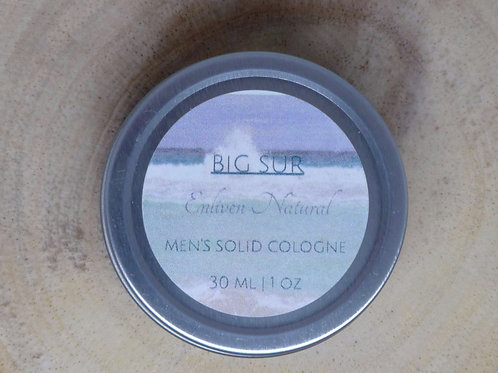 Big Sur Men's Solid Cologne
