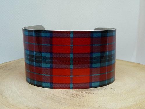 MacTavish Tartan-Plaid Cuff Bracelet