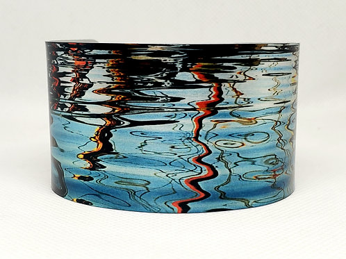 Ripples in Time Cuff Bracelet