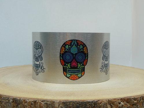 Sugar Skulls Cuff Bracelet